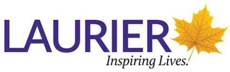 Laurier inspiring lives logo